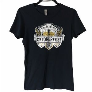 Sierra Nevada Oktoberfest 2016 Navy Graphic Tee
